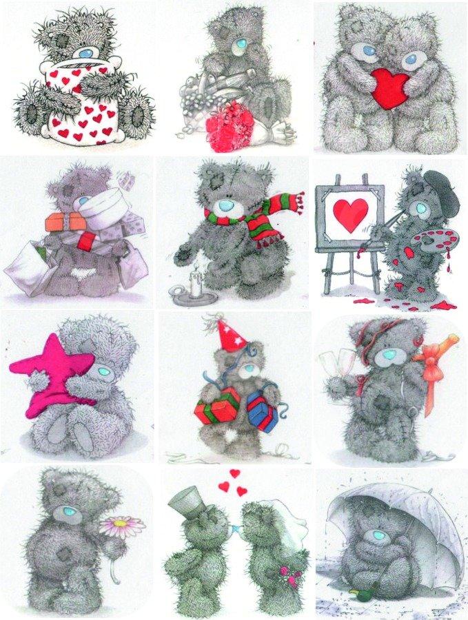 Картинки мишки с заплатками